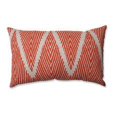Bali Mandarin Rectangular Throw Pillow, Mandarin