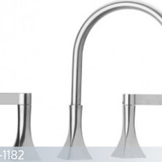 Just Chrome Two Handle Kitchen Widespread Faucet