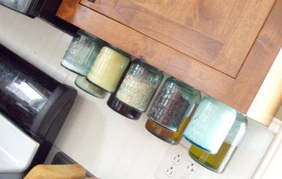 Get Organized: Easy DIY Mason Jar Storage