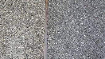 Pressure Washing side by side