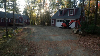 Paver Driveway and Plantings- Work in progress
