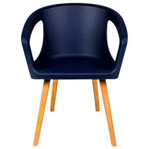 Oman Chair, Navy Blue