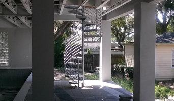 Spiral Stairs Stenholm residence  Tampa- Florida