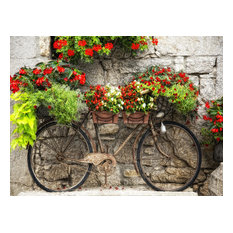 """Rusty Bicyclette"" Outdoor Art"
