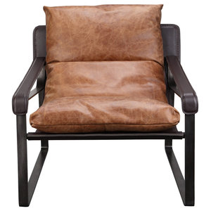 Connor Club Chair C, Brown