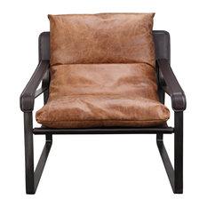 Connor Club Chair C, Brown