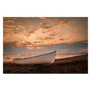 "Pixtury ""La Barca"" Photo Print, Canvas, 40x60 cm"