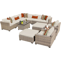 Luxury Contemporary Outdoor Lounge Sets by Design Furnishings