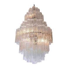 Venini murano glass chandeliers houzz venini consigned midcentury murano glass chandelier chandeliers aloadofball Image collections