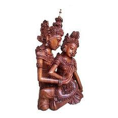 Novica Sculpture 'Hindu Love Story