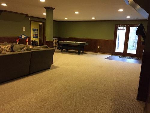 what do i do with basement wood paneling rh houzz com wood paneling basement ceiling mold behind basement wood paneling