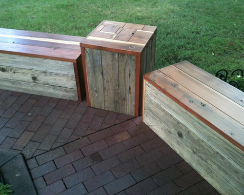 Reclaimed Redwood Furniture