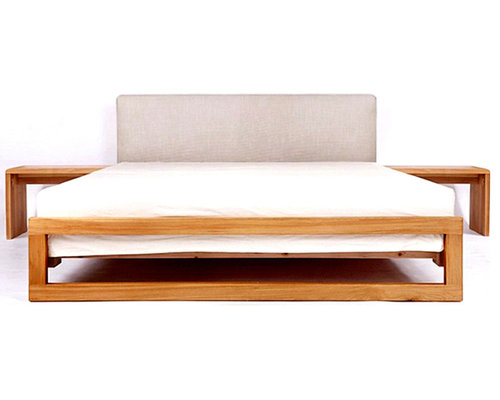 modern solid wood beds