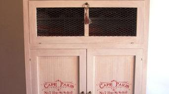 Muebles artesanales personalizados