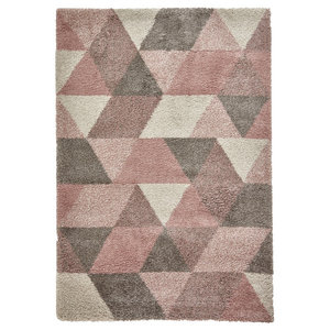 Royal Nomadic Rose Cream Rectangular Rug, 160x230 cm