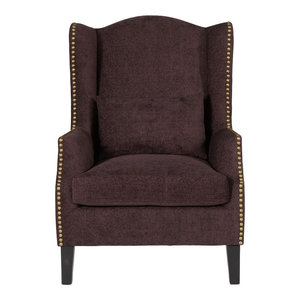 Stirling Occasional Chair, Aubergine