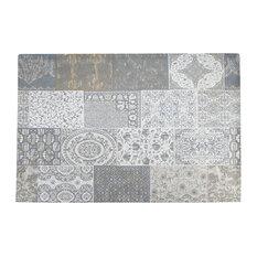 Matrix Area Rug, Grey, 80x150 cm