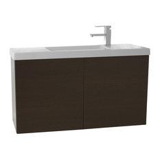 "39"" Bathroom Vanity Set, Wenge"