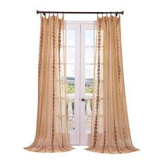 Fiji Lined Cotton Grommet Top Curtain Panel