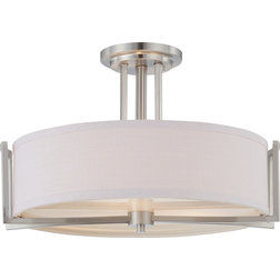 Transitional Flush-mount Ceiling Lighting by Satco Lighting