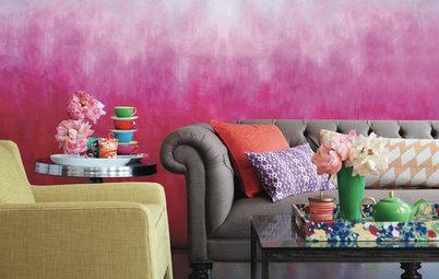 Houzz Tips: Dyp hjemmet i fantastiske farver med batik og dip dye