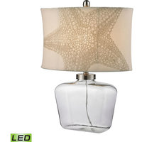 Dimond Clear Glass Bottle LED Table Lamp in Polished Nickel D2617-LED