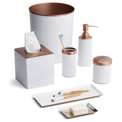 Awesome Contemporary Bathroom Accessory Sets by Paradigm Trends