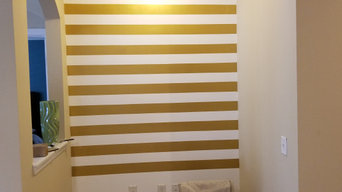 Gold Glitter Table Base/ Accent Wall