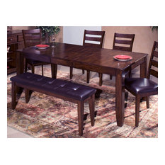 Emma Mason Signature Lorenza Dining Table With Butterfly Leaf In Raisin