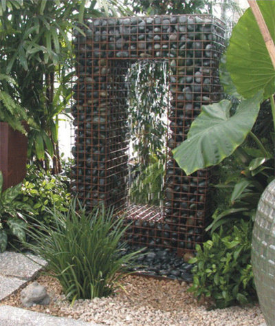 Contemporary Outdoor Fountains And Ponds by Yard Art