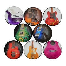 Guitar Cabinet Knobs, 8-Piece Set