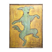 You Make Me So Dog Gone Happy' Reclaimed Wood Wall Art - Small