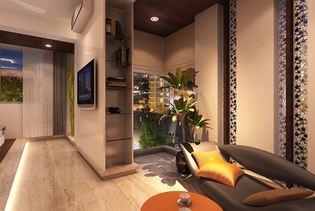 Contemporary Rendering by Adi Interiors