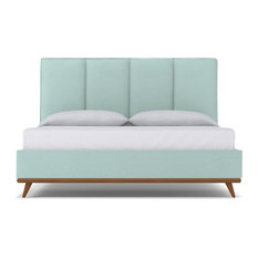 Carter Upholstered Bed, Sky, Eastern King