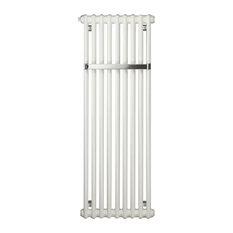 Zehnder Charleston Bar Cloakroom Towel Radiator, White, 180x45 cm