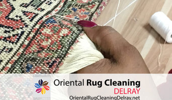 Oriental Rug Cleaning Service Delray Pros