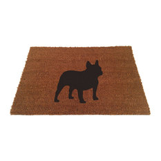 UncommonDoormats   French Bull Dog Doormat   Doormats
