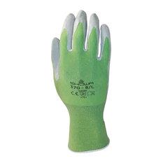 Showa Atlas Nitrile Gloves, Bright Green, Medium