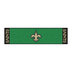 NFL New Orleans Saints Putting NFL Green Runner