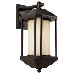 Craftsman Outdoor Wall Lights And Sconces by Trans Globe Lighting