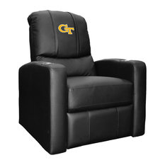 Georgia Tech Yellow Jackets Collegiate Stealth Recliner With  Block GT Logo