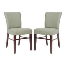 Safavieh Teagon Side Chairs Sea Mist Set Of 2
