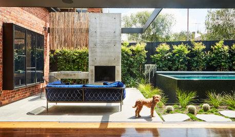 Houzz Австралия: Маленький сад с бассейном