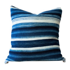 """Speke African Mud Cloth Pillow, 24""""x24"""", Zipper, Cover Only"""