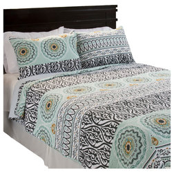 Contemporary Quilts And Quilt Sets by ShopLadder