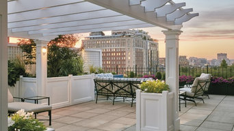 Self-Anchoring Rooftop Pergola in Boston MA