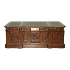 victorian office furniture. mbw furniture 7u0027 solid mahogany leather top presidential oval office resolute desk desks victorian