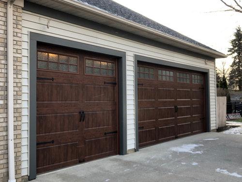 Exterior Lighting Above Garage Door, Gooseneck Lights Over Garage Doors