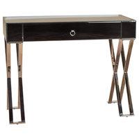 Berkshire Glass Console Personal Single Drawer Desk
