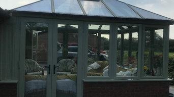 Exterior windows & Conservatory